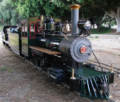 Prairie  Live Steam Locomotive Locomotive