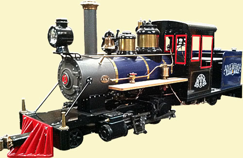 Forney Live Steam Locomotive