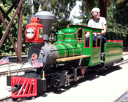 Sweet Creek Mogul Live Steam Locomotive by RMI Railworks - Miniature