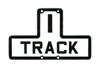 1 Track Sign