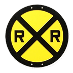 RR Xing Sign