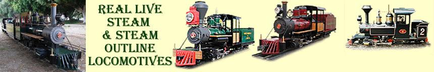 RMI Railworks Live Steam, Gas, Diesel and Electric Locomotives